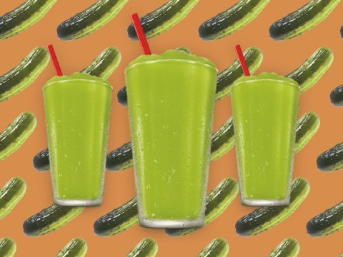 Americans are hella confused over this pickle juice slushie