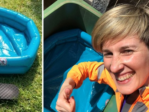 Mum orders pool for £1 and is surprised that it doesn't look like the photos