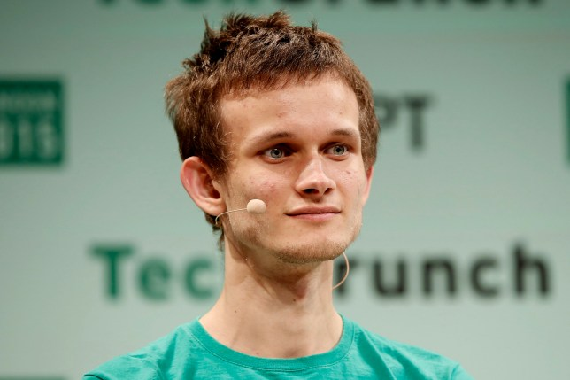 LONDON, ENGLAND - DECEMBER 08: Founder of Ethereum Vitalik Buterin during TechCrunch Disrupt London 2015 - Day 2 at Copper Box Arena on December 8, 2015 in London, England. (Photo by John Phillips/Getty Images for TechCrunch)