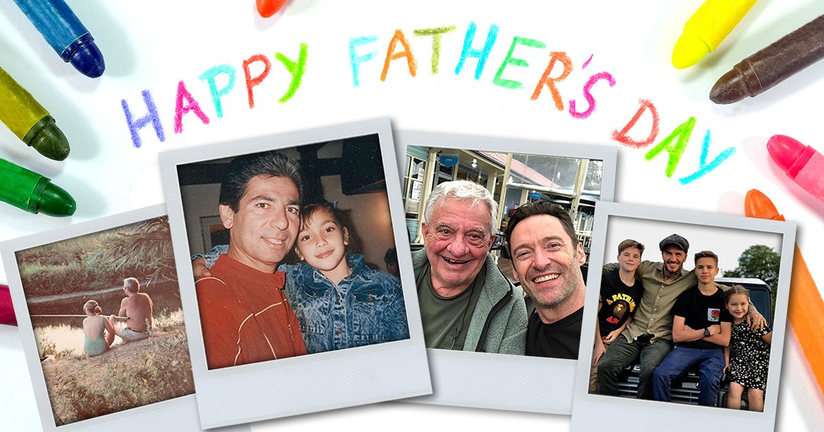 Celebrity Father's Day