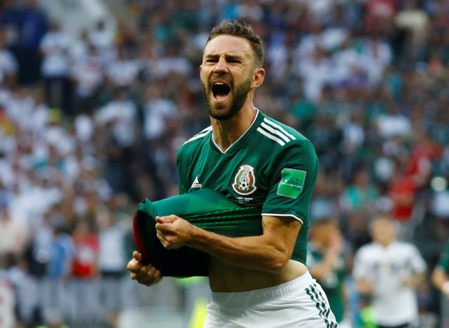 17d325352 Arsenal in transfer battle with AC Milan and Marseille for Mexico star Miguel  Layun