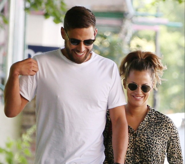 Mandatory Credit: Photo by Beretta/Sims/REX/Shutterstock (9709692k) Caroline Flack and Andrew Brady Caroline Flack and Andrew Brady out and about, London, UK - 11 Jun 2018