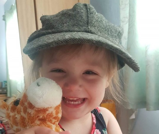 A three-year-old British girl is seriously ill in hospital in Portugal after suffering a stroke on the first day of a holiday. Holly Alcock, three, became poorly almost as soon as she first arrived on her first family getaway in Albufeira. Caption: Holly Alcock