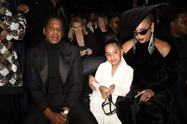 beyonce, jay-z and their daughter blue ivy