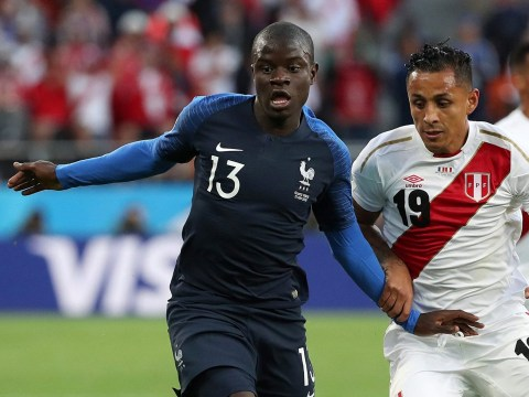 N'Golo Kante amazes Paul Pogba and France teammates with his performance against Peru