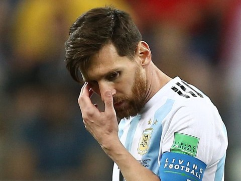 Lionel Messi's reaction to Willy Caballero's mistake sums up Argentina's dismal World Cup
