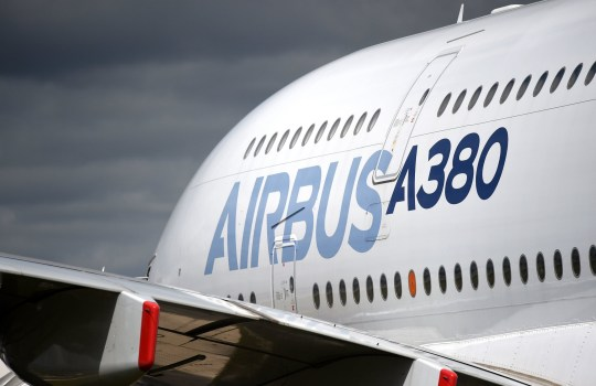 """File photo dated 16/7/2017 of an Airbus A380 on display at the Farnborough International Airshow in Hampshire. The aerospace firm has warned it could pull out of the UK with the loss of thousands of jobs in the event of a """"no-deal"""" Brexit. PRESS ASSOCIATION Photo. Issue date: Thursday June 21, 2018. The firm, which employs 14,000 people at 25 sites across the country, said it would """"reconsider its investments in the UK, and its long-term footprint in the country"""" if Britain crashed out of the single market and customs union without a transition agreement. See PA story POLITICS Brexit Airbus. Photo credit should read: Andrew Matthews/PA Wire"""