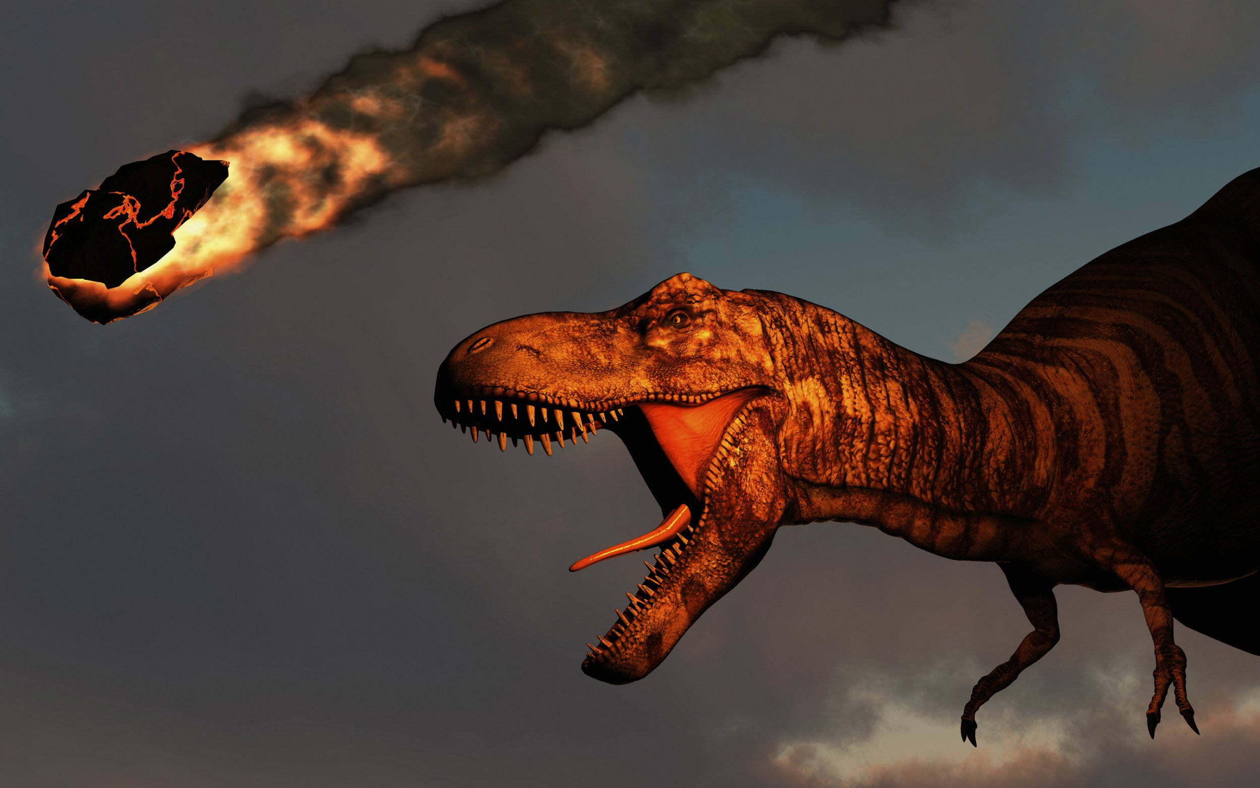 Climate change damage equivalent to asteroid that wiped out dinosaurs, warn scientists