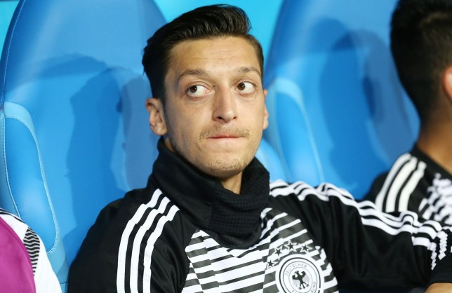 Mandatory Credit: Photo by Michael Zemanek/BPI/REX/Shutterstock (9725501v) Mesut Ozil of Germany on the bench Germany v Sweden, Group F, 2018 FIFA World Cup football match, Fisht Stadium, Sochi, Russia - 23 Jun 2018