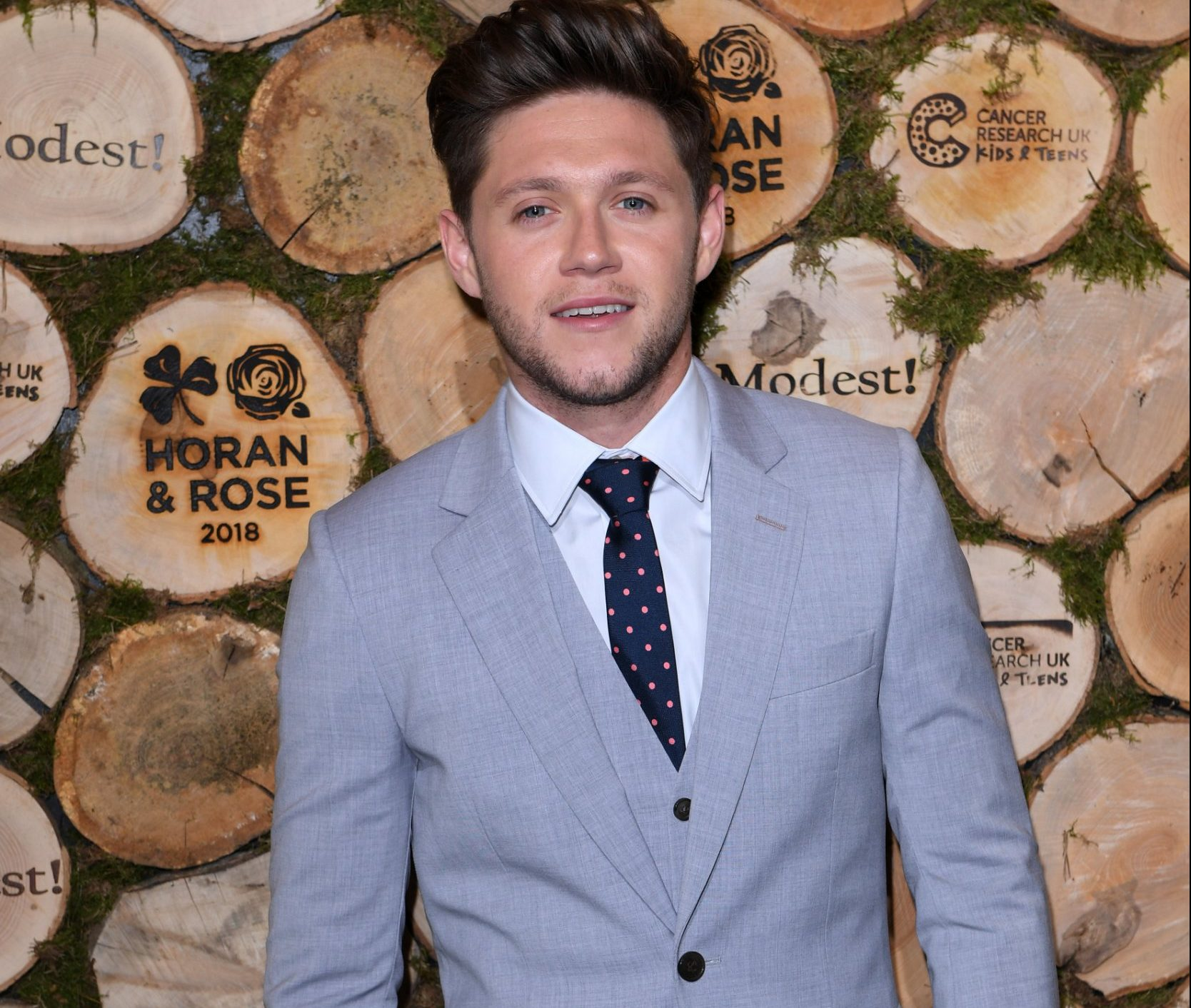 Mandatory Credit: Photo by David Fisher/REX/Shutterstock (9725478f) Niall Horan The Horan and Rose Charity Event, The Grove, Watford, UK - 23 Jun 2018 Launched in May 2016, Horan and Rose is an exclusive two part charity event to raise awareness and funding for Cancer Research UK Kids and Teens. 2016's Horan and Rose Events raised more than an incredible 800,000 GBP, split between Cancer Research UK Kids and Teens, Irish Autism Action and the Kate and Justin Rose Foundation