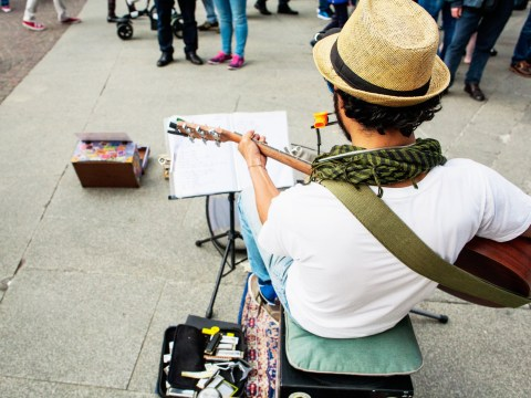 Homeless people set to get free music lessons so they can busk for cash