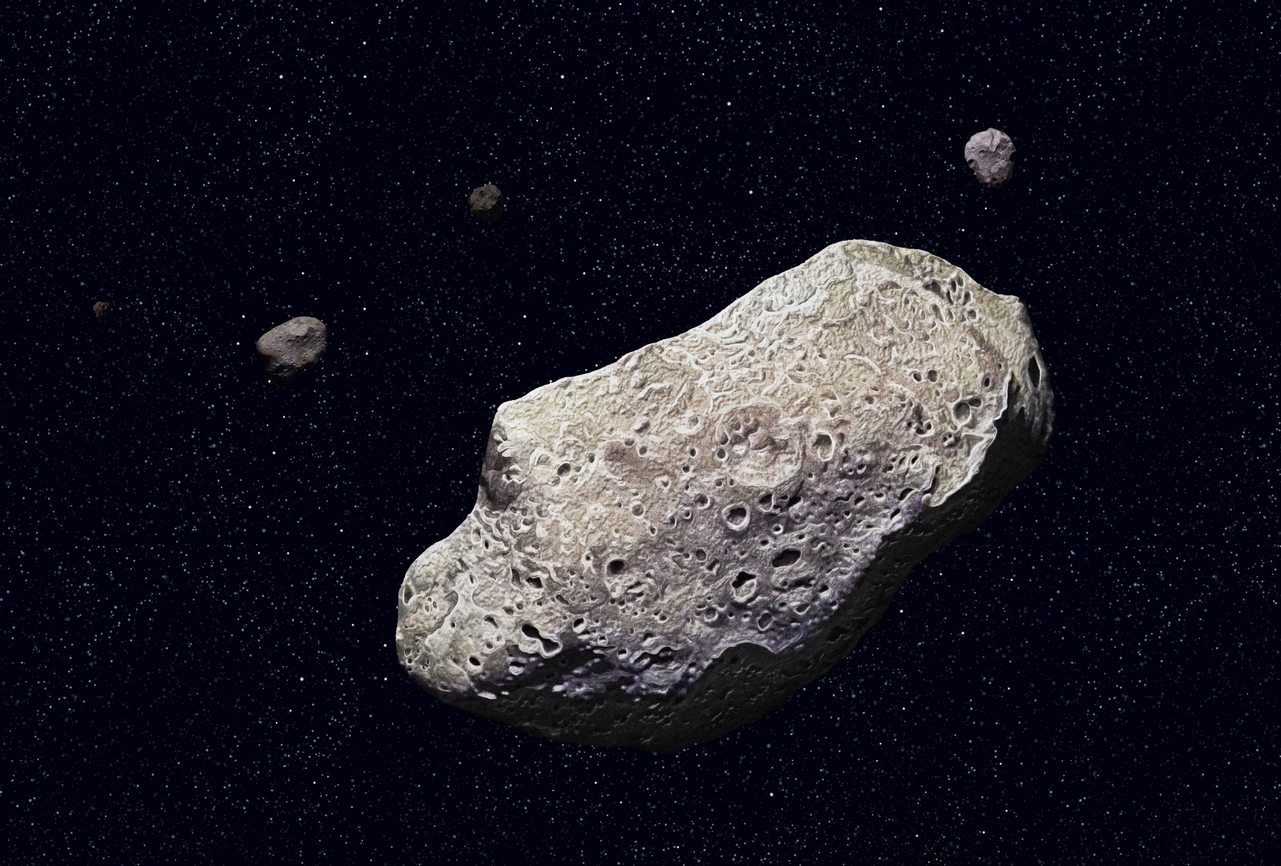 Earth surrounded by scary number of 'stealth asteroids' big enough to destroy a city, European Space Agency reveals