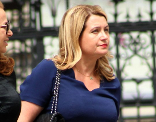 Tereza Burki outside High Court during hearing in her claim against dating agency Seventy Thirty Ltd. Image by Paul Keogh. Note: All first use in print editions to be considered 'live' for payment purposes. No library pic fees for first use.