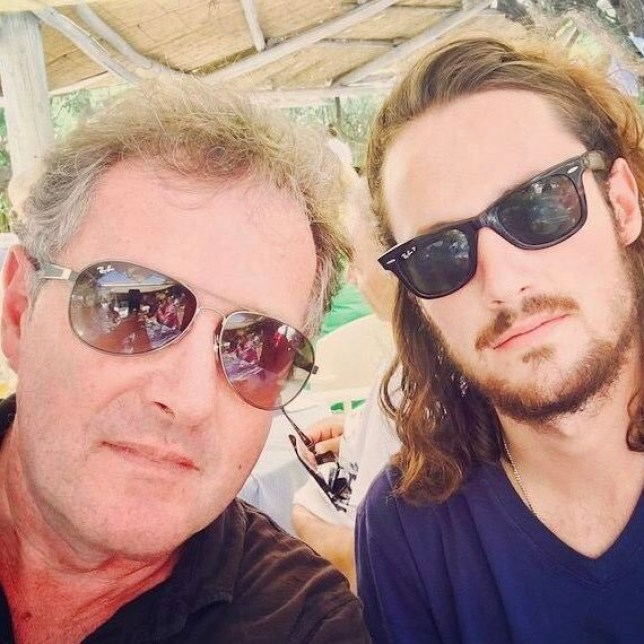 (Picture: Spencer Morgan) Piers Morgan fears his son Spencer is going into Love Island villa