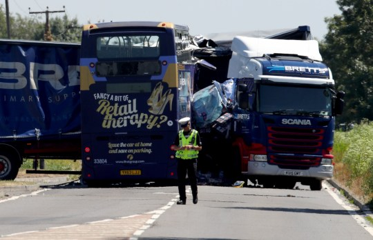 A47 crash: Police name victims killed in crash between bus