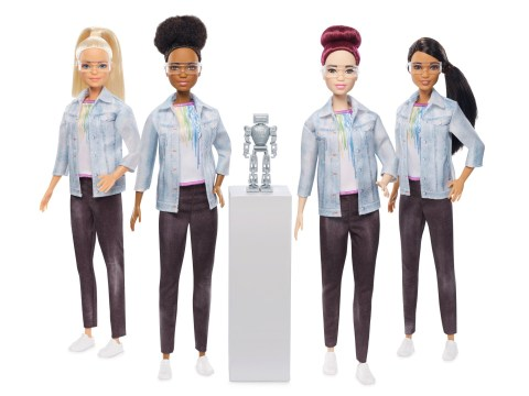 Mattel launches a robotics engineer Barbie