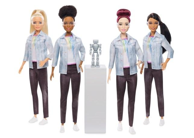 Mattel Just Launched a Robotics Engineer Barbie