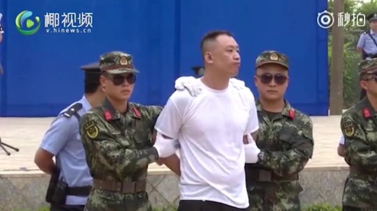 Drug dealers sentenced to death Haikou, China Picture: Weibo/Chinanews.com METROGRAB
