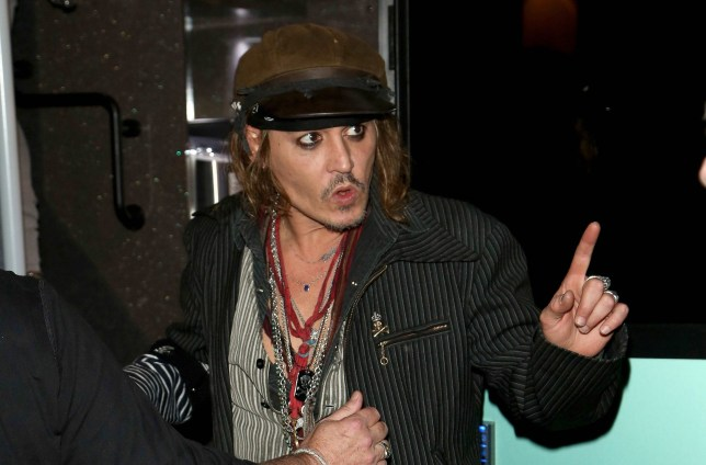Mandatory Credit: Photo by BabiradPicture/REX/Shutterstock (9729454d) Johnny Depp Johnny Depp out and about in Munich, Germany - 27 Jun 2018 Johnny Depp at the Rocco Forte Charles Hotel