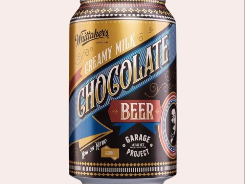 Beer and chocolate come together in this new cocoa-infused lager