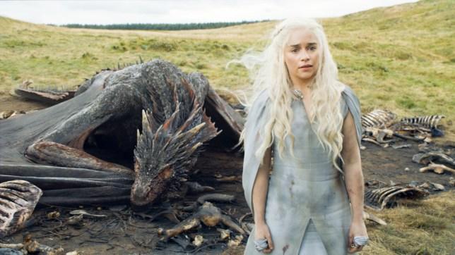 Game of Thrones, Series 5,Episode 10,Mother's Mercy,Sky Atlantic, Clarke, Emilia as Daenerys Targaryen