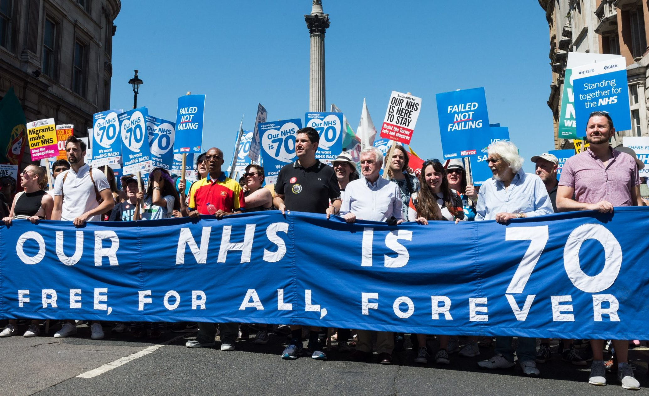 As we celebrate the NHS's 70th birthday, I want to say thank you for the years it's given me