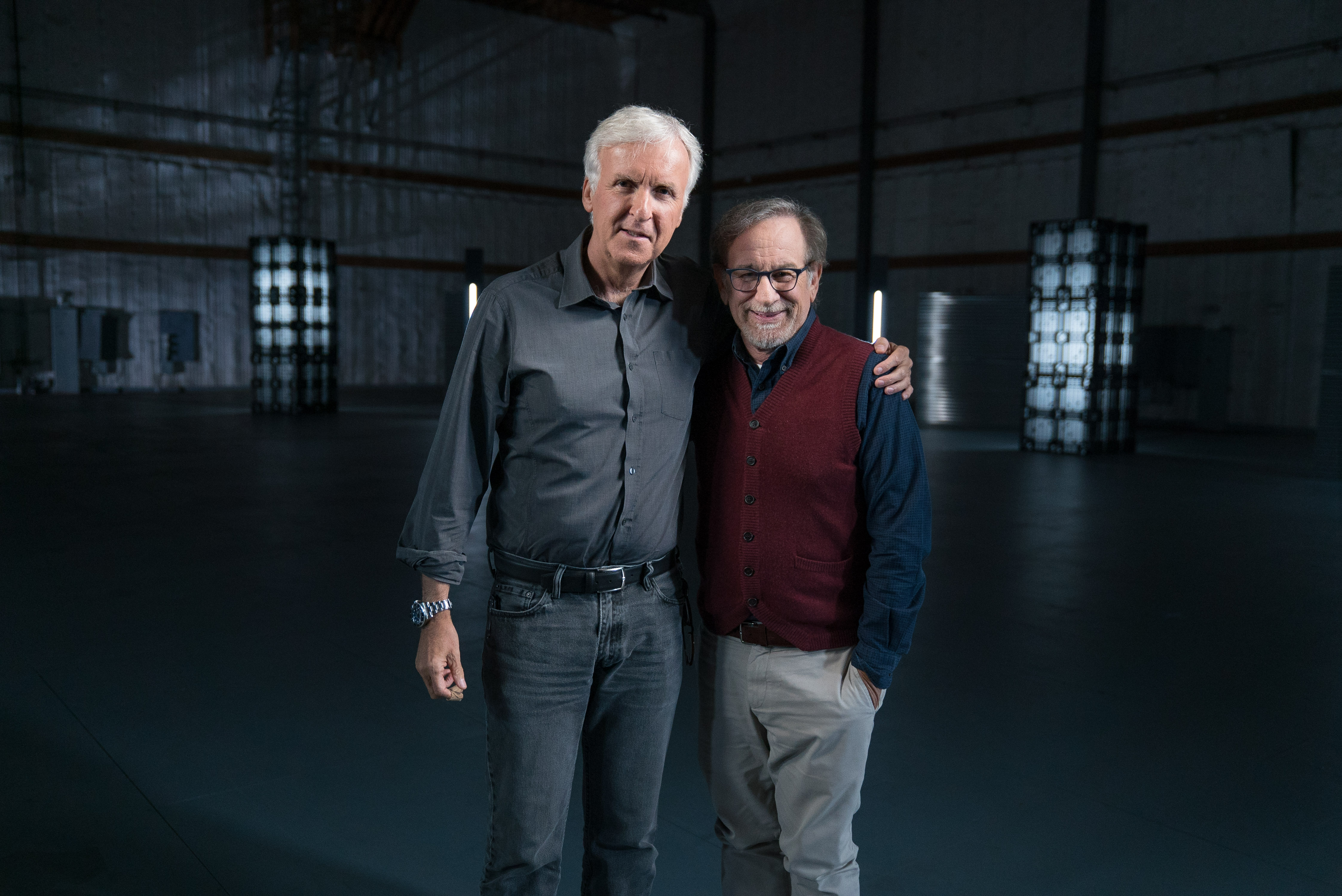 Steven Spielberg reveals what films terrified him as a child in an interview with James Cameron