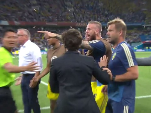 Germany spark bust-up by sarcastically clapping Sweden's bench after Toni Kroos' winning goal