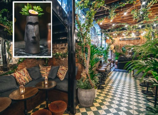 The Diplomatico terrace at the Bloomsbury Hotel