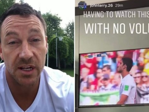 John Terry explains Instagram post after he's branded 'sexist' towards female commentator