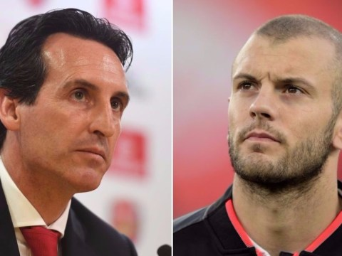 Arsenal fans turn on Unai Emery for 'forcing' Jack Wilshere out of the club