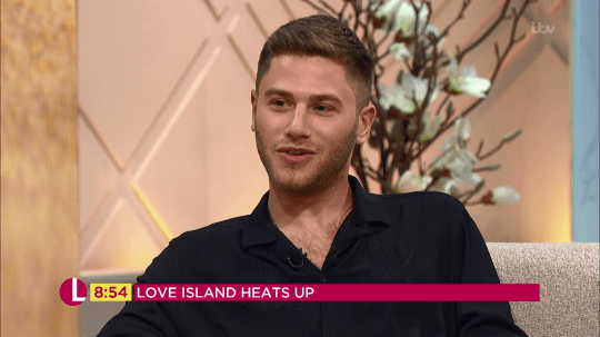 Eyal's brother Tal spoke about him having sex with Megan on Love Island (Picture: ITV)