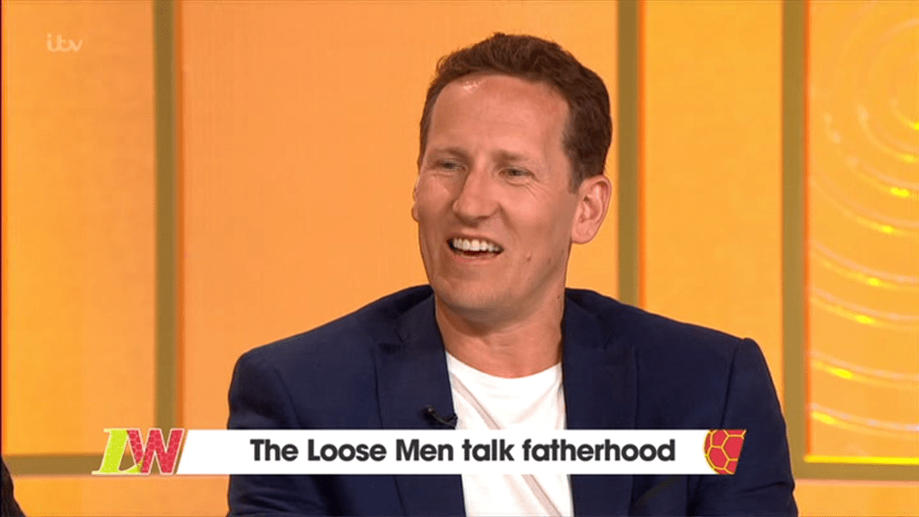 Brendan Cole opens up about fatherhood on Loose Women (Picture: ITV)