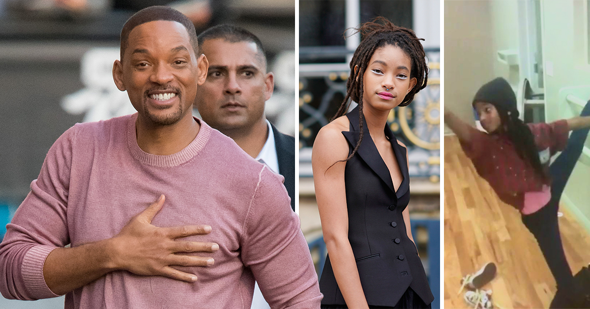 Will Smith is dad goals after sharing inspiring video of Willow's first ballet class