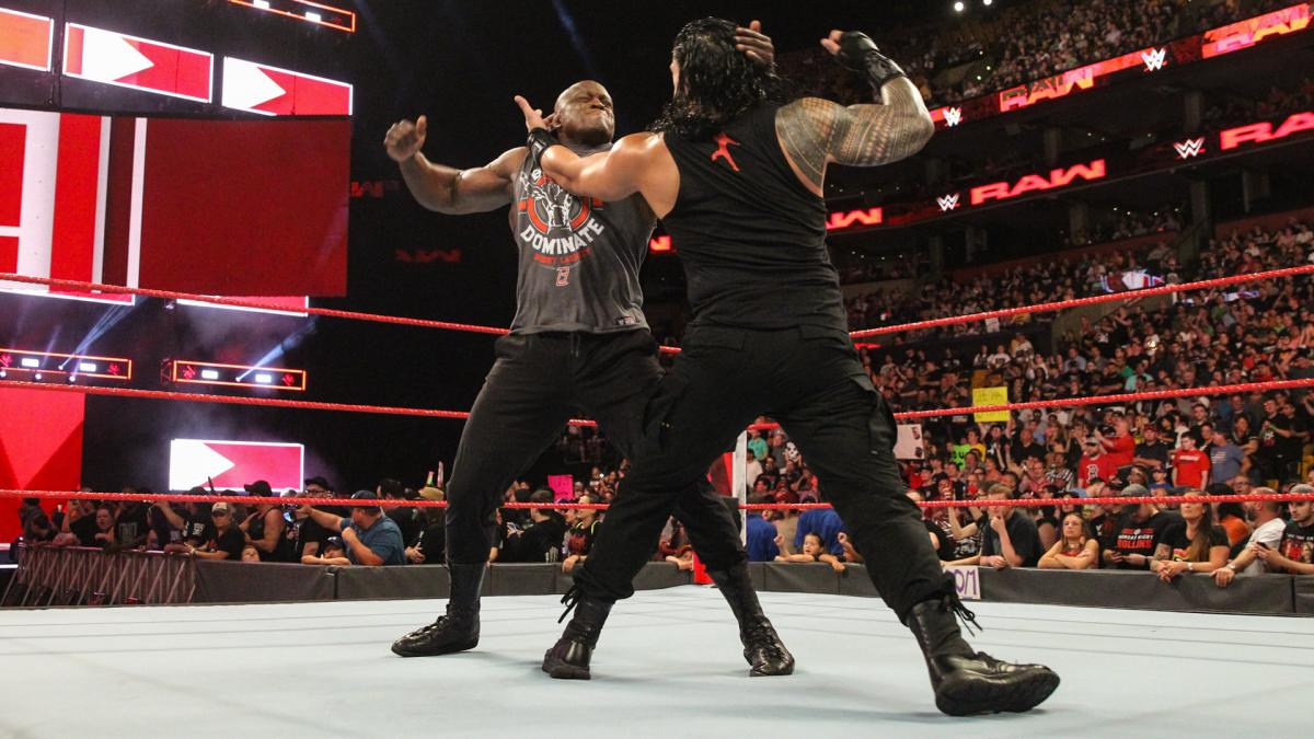 WWE Raw: Roman Reigns and Bobby Lashley had an insane brawl to start the show