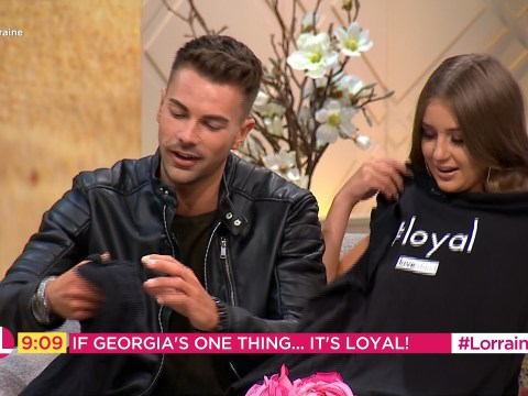 Love Island's Georgia Steel presented with 'loyal' T-shirt but she still doesn't get what the fuss is about