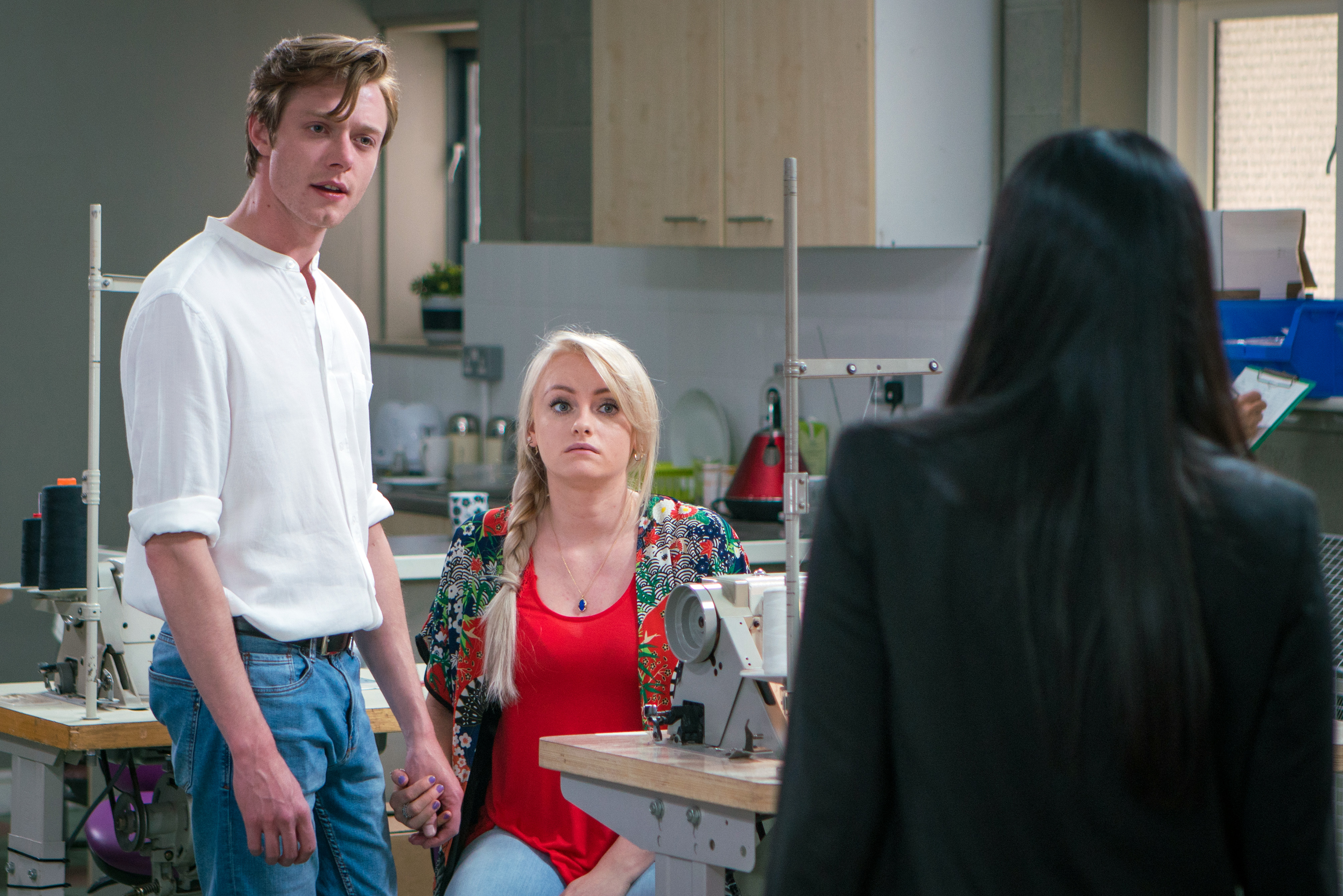Sinead and Daniel reveal their news in Coronation Street