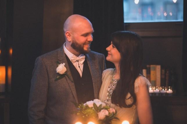 fay robson wedding