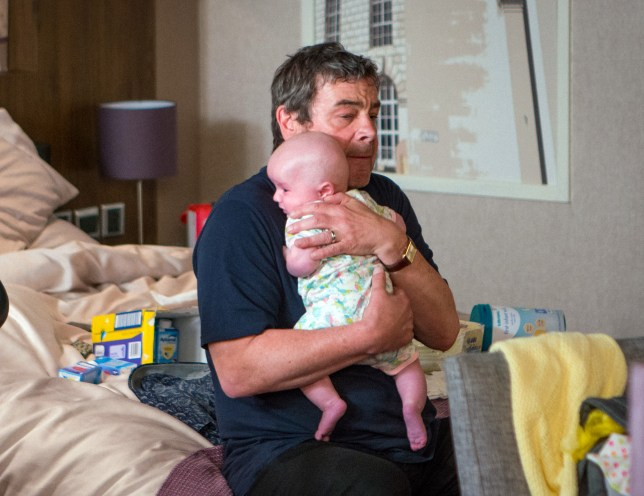 Johnny kidnaps Susie in Coronation Street