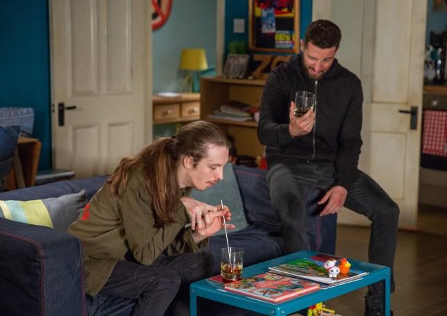 Ryan and Ross bond in Emmerdale