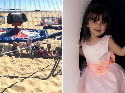 Pictured: Ava-May Littleboy, 3, who died after being thrown from bouncy castle