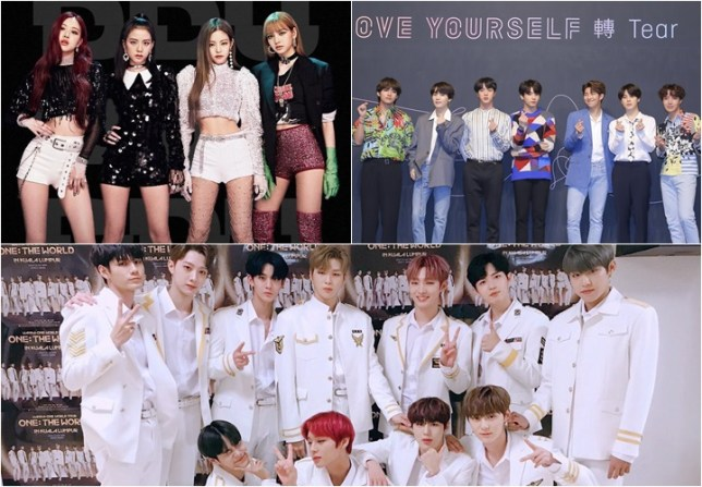 Black Pink, BTS and Wanna One top singers' brand reputation