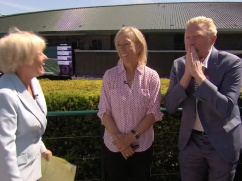 Boris Becker swears just 10 minutes into live coverage of Wimbledon
