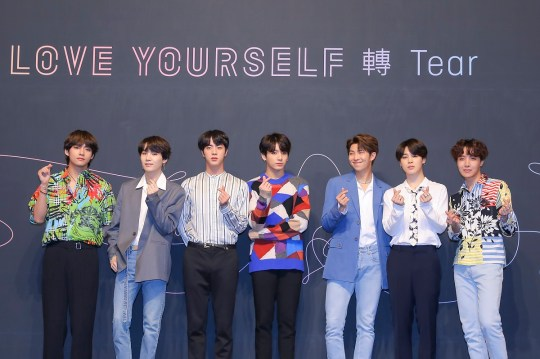 BTS Love Yourself Answer repackage album has seven new