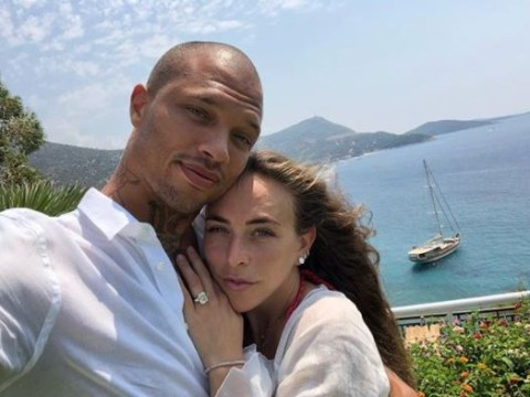 Are Jeremy Meeks and Chloe Green finally officially engaged? That rock might say yes