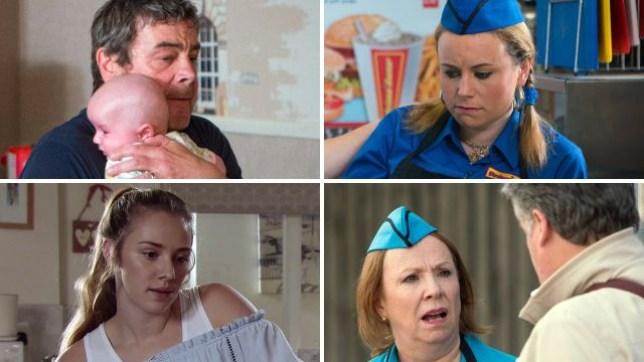Coronation Street spoilers for Johnny, Gemma, Kayla and Cathy