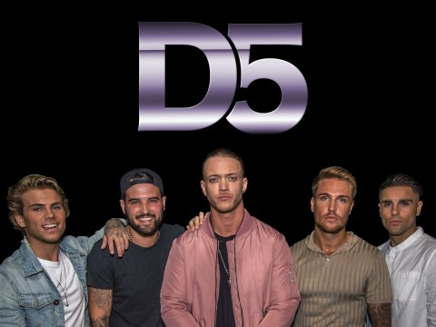 Towie's Ricky Rayment teams up with Love Island reject for new band D5