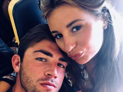Love Island's Dani Dyer shares first loved up selfie with Jack Fincham as they arrive home after winning