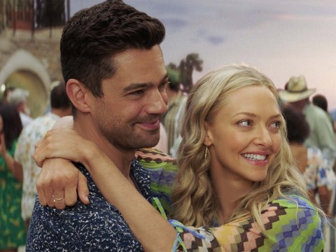 Dominic Cooper admits kissing ex-girlfriend Amanda Seyfried in Mamma Mia 2! was a 'delicate situation'