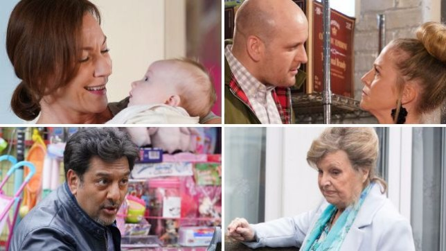 EastEnders spoilers for Rainie, Stuart, Linda, Masood and Cora